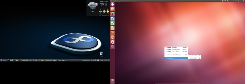 fedora-ubuntu-virtualbox