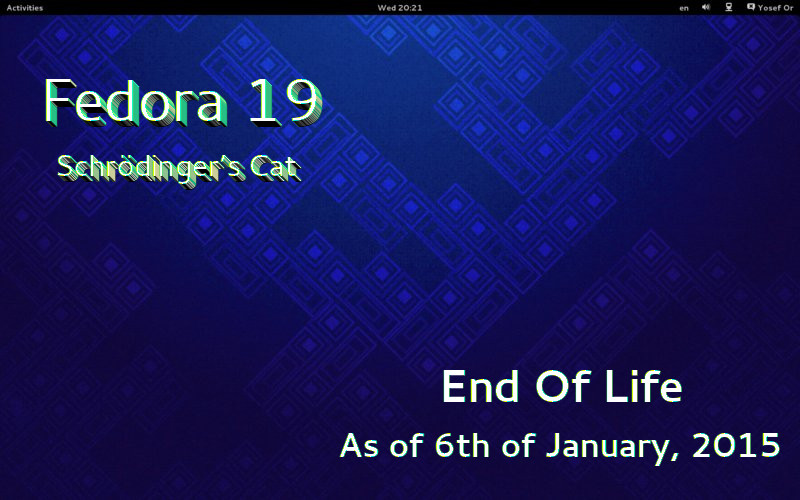 fedora-19-end-of-life